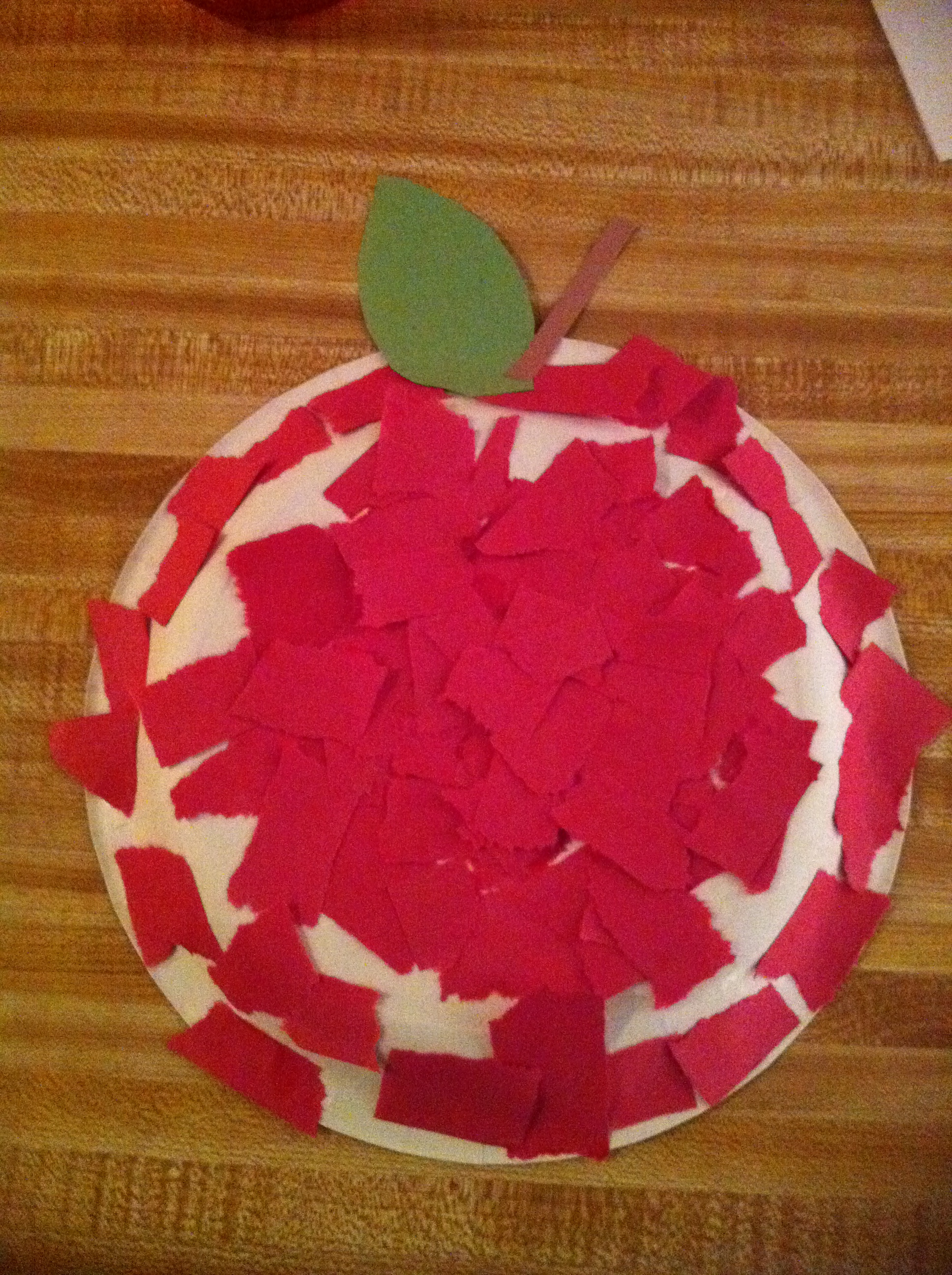 red day craft ideas apple project for toddlers choudhary 5322